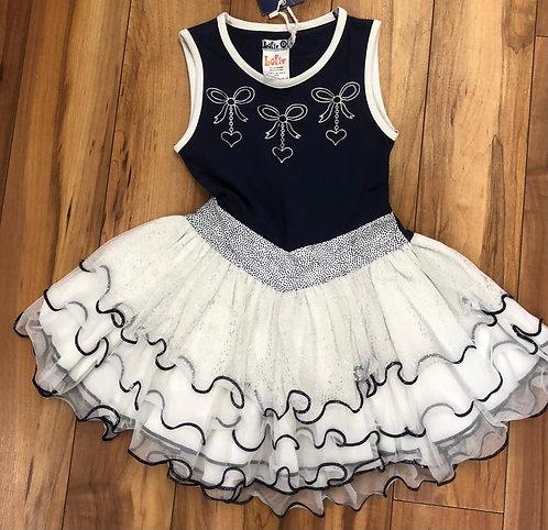 Lofff - Navy & White Dress