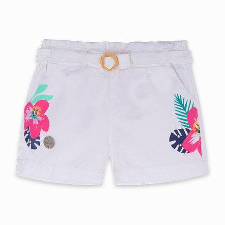 Tuc Tuc -White Flower Shorts