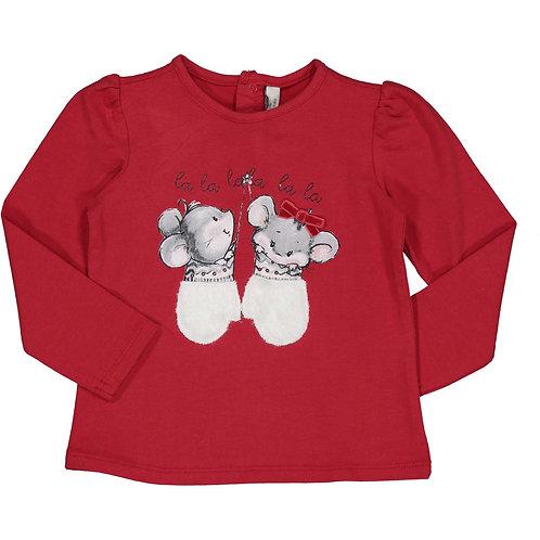 Birba - Red Long Sleeve T-Shirt