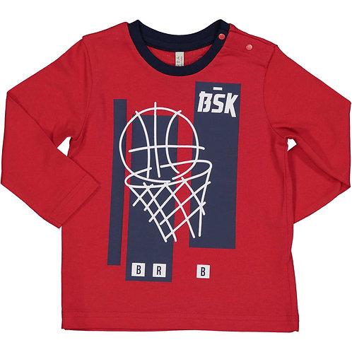 Birba - Red Long Sleeve T- Shirt