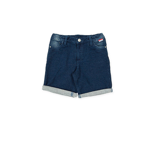 Tutto Piccolo - One Step Navy Blue Shorts