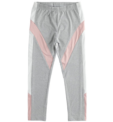 iDO - Sporty girl leggings with two-tone inserts