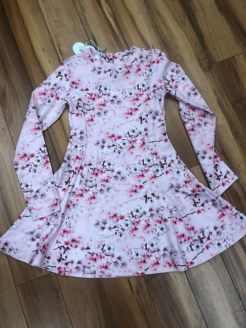 Arianne Dee - Long Sleeve Pink Floral Dress