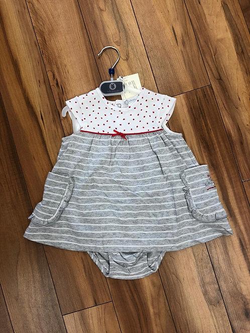 Tutto Piccolo  - Grey Dress & Briefs