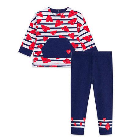 Tuc Tuc -  Plush Sweatshirt & Leggings