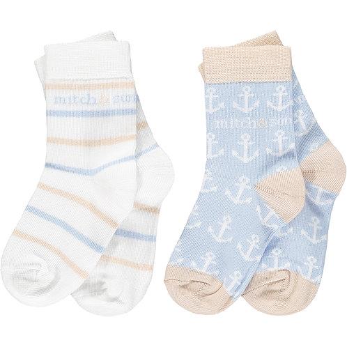 Mitch & Son - Bank Nautical Socks