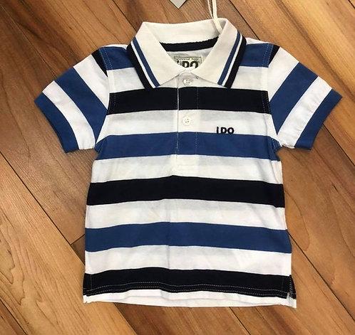 iDo Stripe Polo Shirt