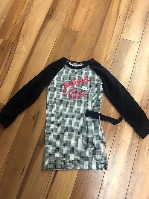 NoNO - Check Print Dress