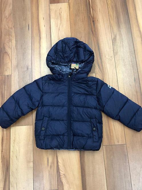 iDO- Navy Padded Coat with Hood