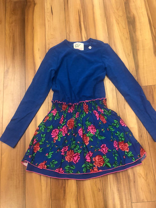 Mimpi - Blue & Pink Flower Dress