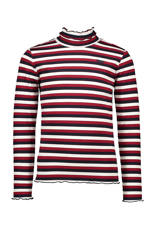 Le Chic - Nola Stripe Turtleneck Top