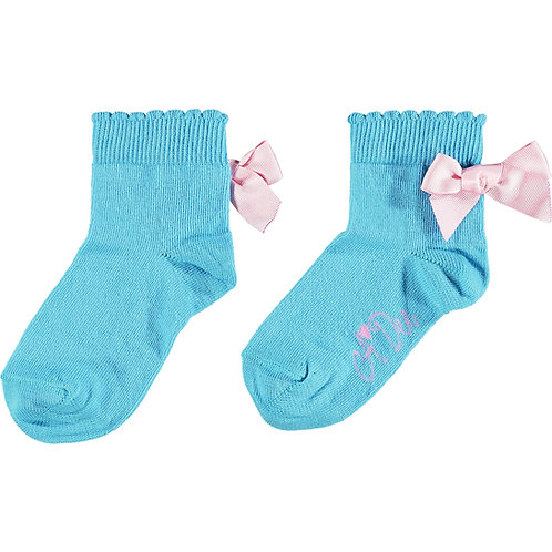 A Dee - Nic Bow Ankle Sock