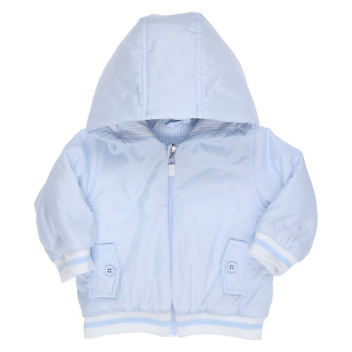 GYMP - Light Blue Sumi Coat with Hood