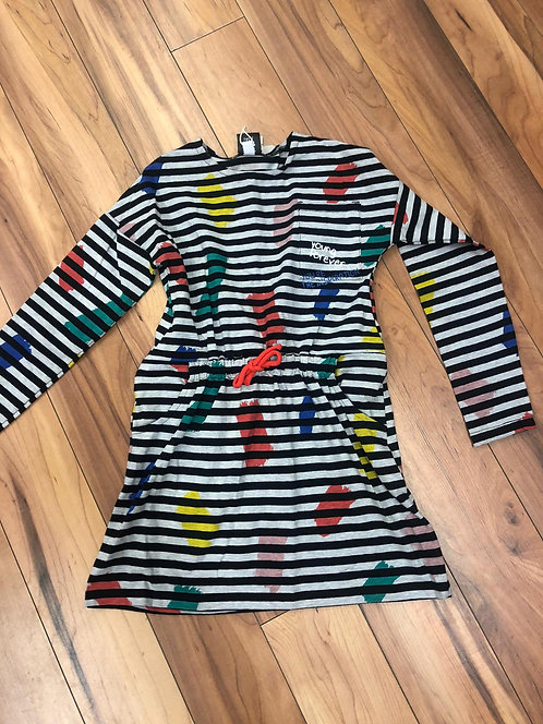 Tuc Tuc - Stripe Long Sleeve Dress