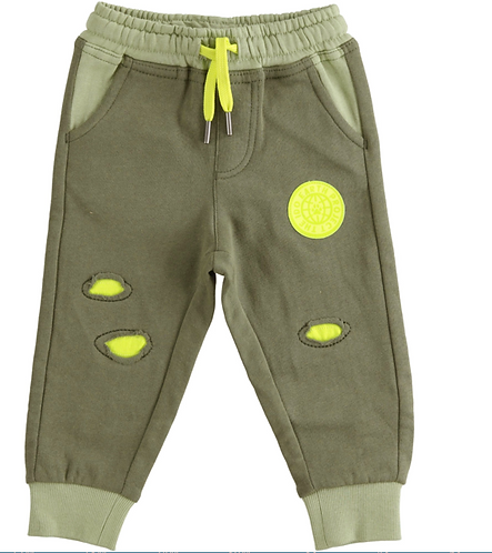 iDO - Army Green Knitted Trousers