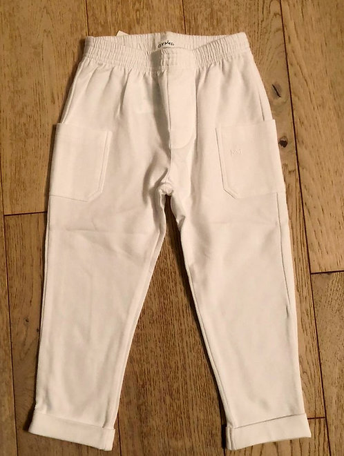 GYMP - White Tracksuit Pants