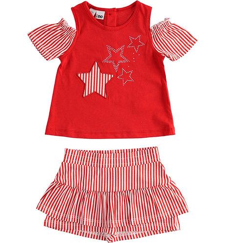 iDO - Red Short Sleeve Set