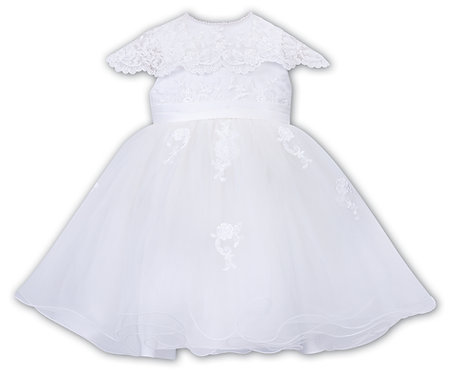Sarah Louise - White Ballerina Length Dress