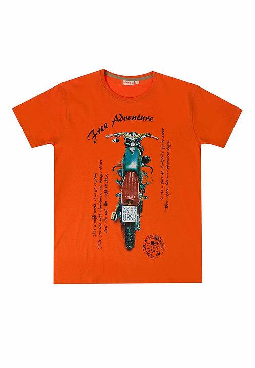 UBS2 - Orange Motorbike T-Shirt
