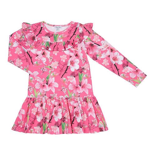 Happy Calegi - Pink Floral Dress
