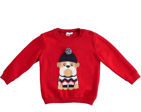 iDO - Red Knitwear
