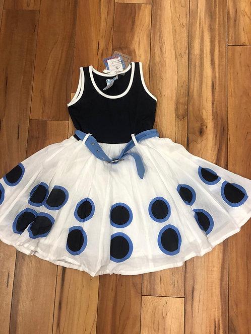 Lofff - Flaring Blue Dress