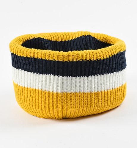 iDO - Navy & Yellow Scarf