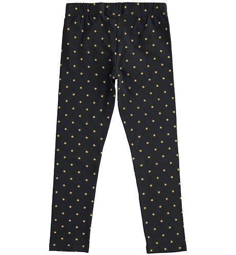 iDO - Black & Yellow Star Long Leggings