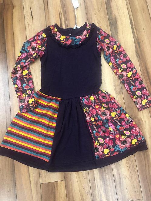 Missy - Mix Long Sleeve Dress