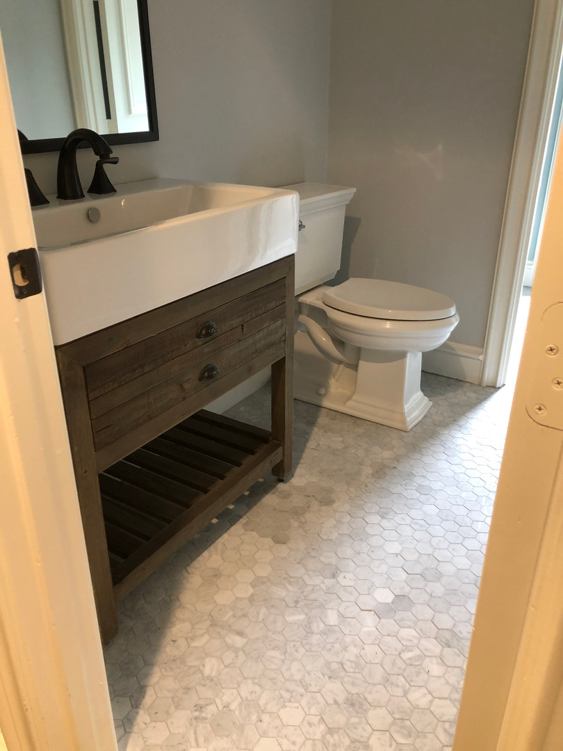 Secondary Bathroom After