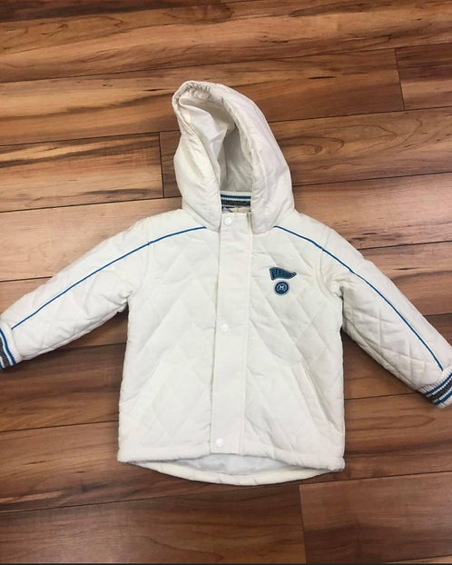 Mitch & Son - White Padded Jacket