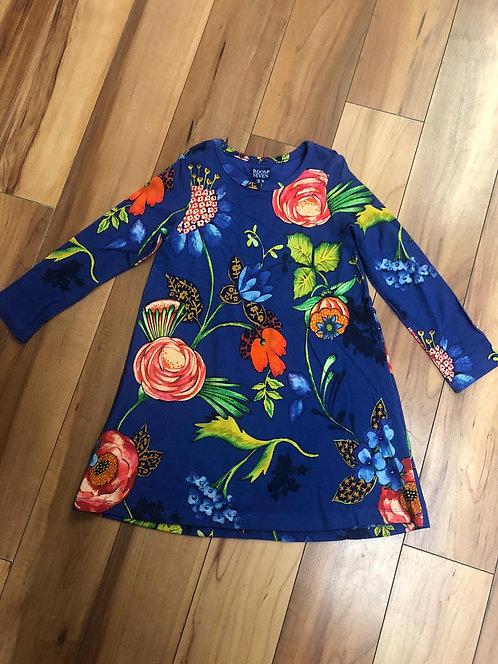 RoomSeven - Blue Floral Print Dress