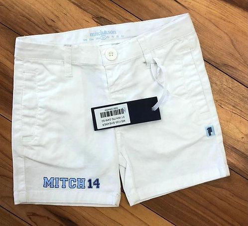 Mitch & Son - Shearer White Shorts