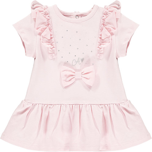 Little A - Jainey Sparkle Bow Dress
