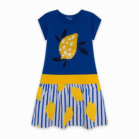 Tuc Tuc - Blue Reversible Sequins Dress