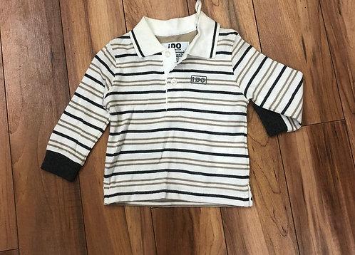 iDO - Stripe  Long Sleeve Top
