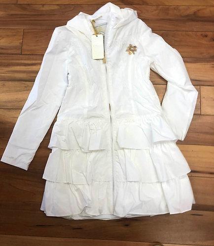 Le Chic Long White Coat