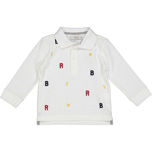Birba - White Polo T-Shirt