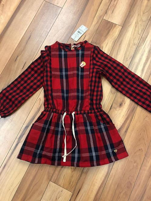 Tuc Tuc  - Red Tartan Dress