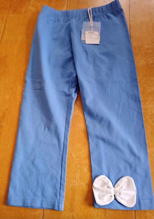 Lofff Blue Leggings with Bow