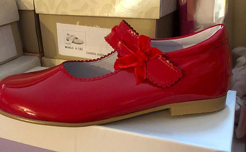 Shoes -  Red Patent