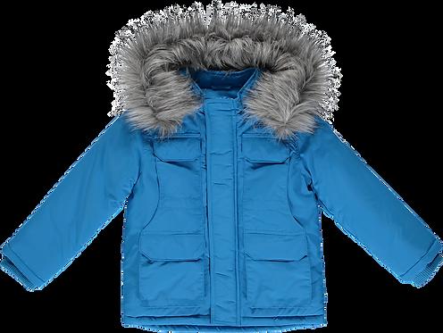 Mitch & Son Tristan - Brilliant Blue Padded Jacket