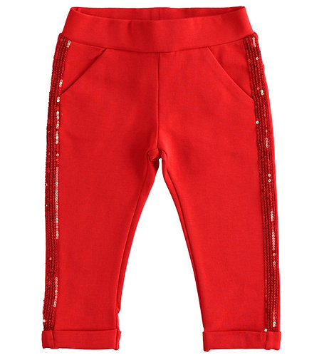 iDO - Red Knitted Trousers