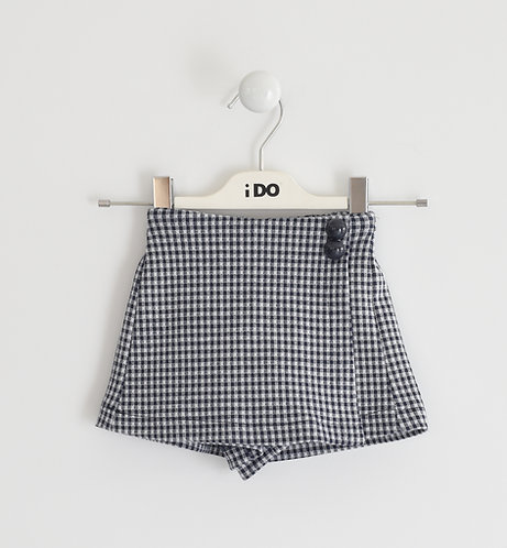iDO -Navy Knitted Shorts