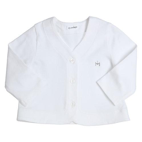 GYMP -  White Cardigan
