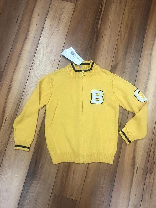 Birba - Yellow Zip Up