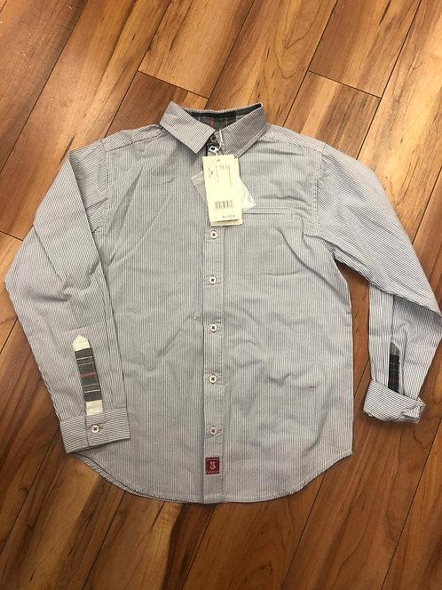 Tutto Piccolo - Grey Stripe Shirt