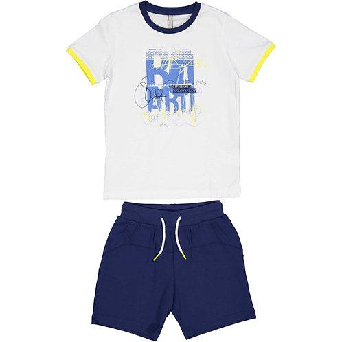 Trybeyond  - Short and T-Shirt Set