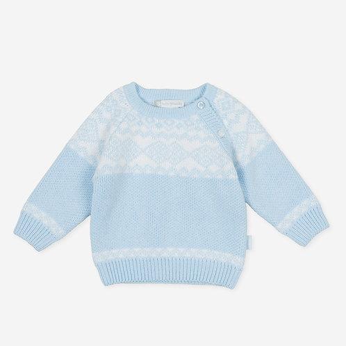 Tutto Piccolo Carina - Light Blue Knit Jumper