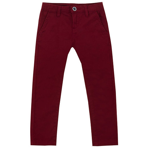 UBS2 - Dark Red Chinos
